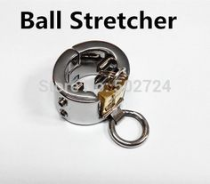 48.99$  Watch here - http://ali3y8.worldwells.pw/go.php?t=32244600365 - Adult Games  Kalis Teeth Spiked Chastity Device 2 Rows  Sex Toy Male's Ball Stretcher