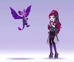 Эвер Афтер Хай Игры Драконов: Танцы с драконами, анимации
