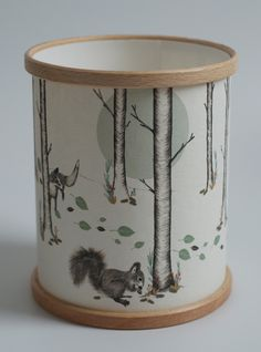 """A Northern Light """" Woodland"""" Candle cover – Podarok"""