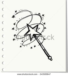 Find Doodle Magic Wand Vector Illustration stock images in HD and millions of other royalty-free stock photos, illustrations and vectors in the Shutterstock collection. Wand Tattoo, Magic Tattoo, Magic Doodle, Magic Drawing, Magic Quotes, Magic Design, Drawing Clipart, Fairy Wands, Tattoos