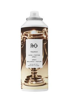Who doesn't like pretty shiny things? Win big with R+CO's Trophy Shine + Texture Spray. This brilliant spray adds just the right amount of texture, volume and shine to hair, leaving you feeling like a winner.