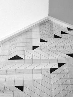 Geometric floor patterns
