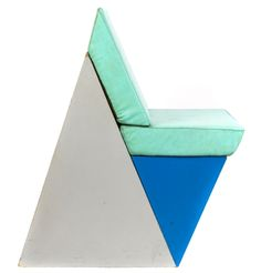 From COLOR/GEOMETRY: Marc Newson chair, 1982