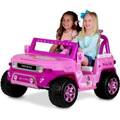 Disney Princess Toyota FJ Cruiser 12-Volt Battery-Powered Ride-On - Walmart.com
