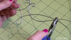How to Make a Headpiece / Circlet with wire - SPARKLY BELLY