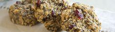 Easy Breakfast cookies! Raw, vegan and gluten free. Delicious, too.