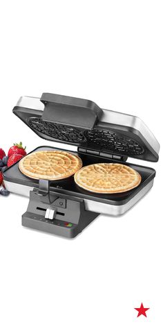 Crunchy, sweet pizzelles make the perfect topper for your ice cream creation. Use this press from Cuisinart to make yours from scratch.