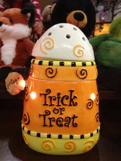 Coming September 1, 2013:  Trick or Treat Scentsy Warmer...too cute! https://scent-aholic.scentsy.us