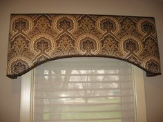 images of window valance treatments | recently completed this window treatment for a client who re ...