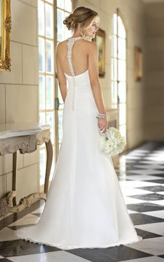 Love this back design !Stella York Bridal Gown- Style 5745