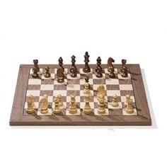 Walnut Chess Board (55x55)