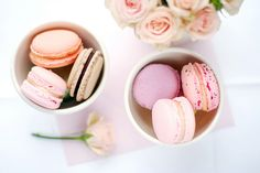 Peach And Pink Wedding Colors | Easter Colored Macarons - The Sweetest Occasion | The Sweetest ...