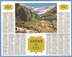 Almanach des Postes 1967