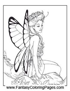 check out these beautiful fairy coloring pages with this package you get 16 of the