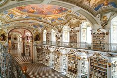 Monastery of Admont, Admont, Austria, photo by Johann Steininger.