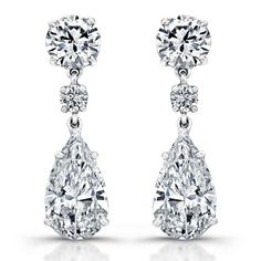 Girls Diamond Earrings Latest Designs 2015 (3)