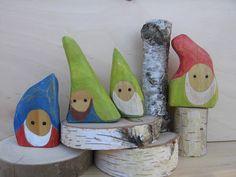 wood gnome heads