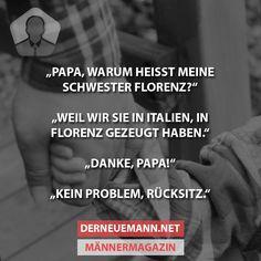 Warum heißt meine Schwester Florenz? #derneuemann #humor #lustig #spaß