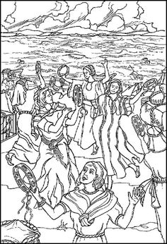 christian dance coloring pages - photo#36