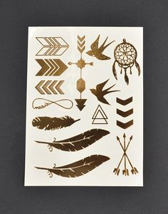 Golden Native Jewelry Tattoo – 2020AVE