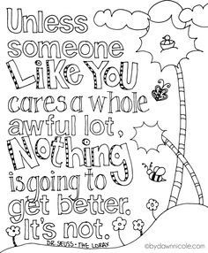 all quotes coloring pages | 2017 seuss 2 | pinterest | color ... - Dr Seuss Printable Coloring Pages