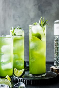 Tarragon Gin and Ton