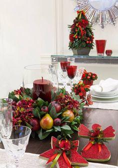Mesas navideñas de Martha Sophia dentro de #elpalaciodelospalacios