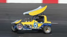 Mark Sargent, Vintage Supermodified at Madera Speedway, California