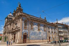 Igreja do Carmo. Porto City, Fc Porto, Gothic Cathedral, Douro, Port Wine, Most Beautiful Cities, Pilgrimage, Natural Wonders, Cruise