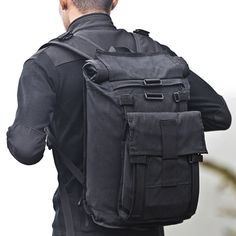 Arkiv Field Pack by Mission Workshop - Weatherproof Bags & Technical Apparel - San Francisco & Los Angeles - Built to endure - Guaranteed forever Gouts Et Couleurs, Moda Men, Mission Workshop, Fashion Bags, Mens Fashion, Carry On Size, Designer Backpacks, Cool Backpacks, Men Accessories