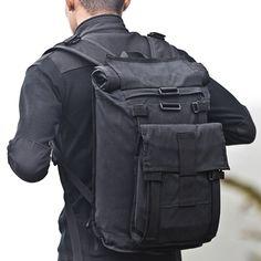 Coolest backpack we've ever seen - Arkiv Field Pack
