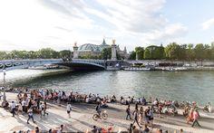 Voie Georges Pompidou Pedestrian Only