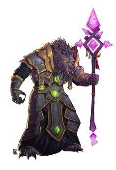 Worgen Warlock