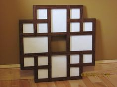 Multiple Pictures Frame Collage Frame Collage by ZimWoodworking, $65.00