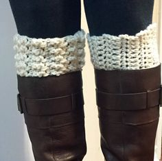 Reversible Boot Cuffs by Hooked Up