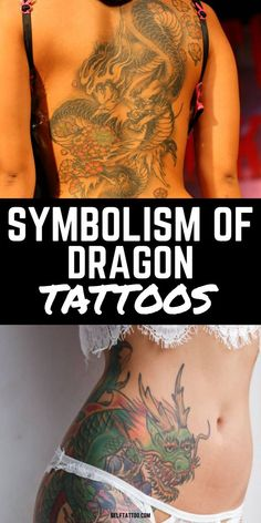 The Symbolism Behind Dragon Tattoos | Dragon Tattoo Designs - Are you thinking about getting a dragon tattoo? These mythical creatures have many meanings throughout the east and the west. Click here for the symbolism and meaning behind different dragon tattoos. Self Tattoo | Body Art | Dragon Tattoo | Dragon Tattoo For Women | Dragon Tattoo Ideas | Dragon Art | Tattoo Ideas | Dragon Tattoo Back | Tattoo Designs | Tattoo Ideas For Men Dragon Tattoo Back, Dragon Tattoo For Women, Japanese Dragon Tattoos, Dragon Tattoo Designs, Back Tattoo, Tattoo Designs Men, Animal Tattoos For Women, Small Animal Tattoos, Tattoos For Women Small