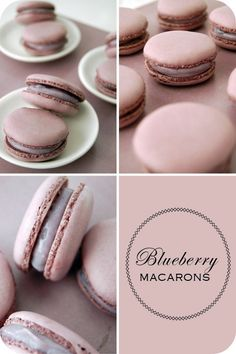 Blueberry macarons: For the macarons- •100g egg whites •3g egg white powder •125g almond meal •125g icing sugar •Red and blue food colouring For the syrup: •150g sugar and 50ml water || For the filling- •120g white chocolate, chopped •1/2 cup heavy cream •½ cup blueberries