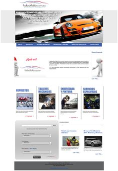 Directorio Automotriz, diseño y programación pata TUBOLIDO.com.ec, personalización de virtuemart y joomla, css