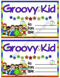 groovy themed classroom | Can't Wait!!! / Groovy / Hippie classroom theme
