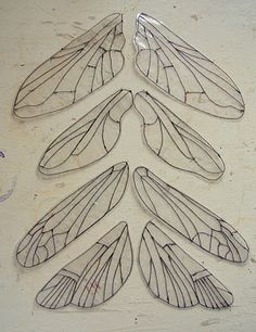 This made me think that I could use maple tree seeds for wings. I could paint them too.