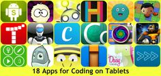 Educational apps for teaching coding on Tablet Apps For Teaching, Teaching Kids, Stem Teaching, Digital Technology, Educational Technology, Programming Tools, Computational Thinking, Software Apps, School