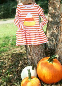 Sewing Mama RaeAnna: Candy Corn Cutie - Project Run&Play Week 2