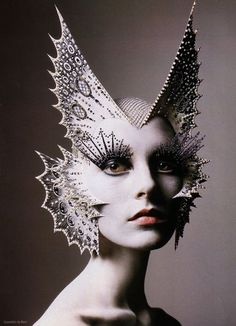 Kick ass Kabuki. The legendary makeup artist's creation for NARS.