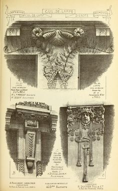 1915 - Materials and documents of architecture and sculpture : classified alphabetically -  A reissue of Matériaux et documents d'architecture et de sculpture, Paris, 1872-1914 -  Volume 5