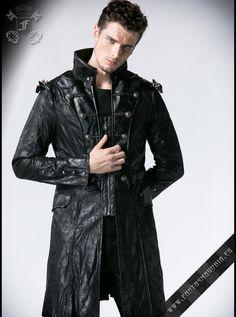 Steampunk men's coat