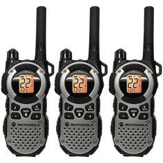 Motorola TALKABOUT MT352TPR Two Way Radios Three Pack