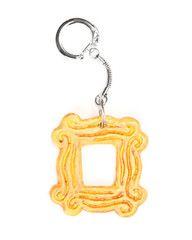 friends peep hole key chain
