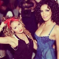 Adrienne Bailon and Julissa Bermudez from Empire Girls