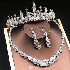 Silver Bridal Jewellery, Royal Jewelry, Wedding Jewelry Sets, Luxury Jewelry, Silver Ring, Kawaii Charms, Fantasy Jewelry, Bridal Accessories, Marie