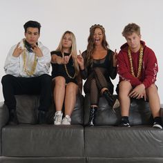 Erika Costell, Ray Diaz, Justin Roberts and Loren